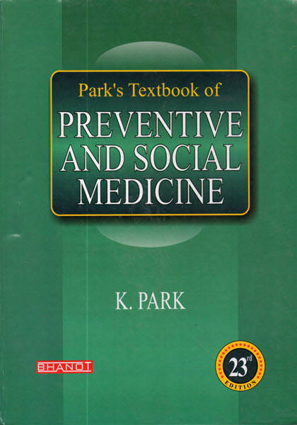 Book Cover: Park Textbook of Preventive and Social Medicine PDF Book