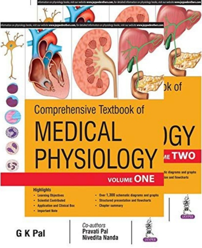 Book Cover: Comprehensive Textbook of Medical Physiology