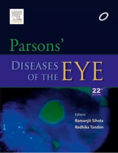 Parsons Ophthalmology pdf 22nd edition