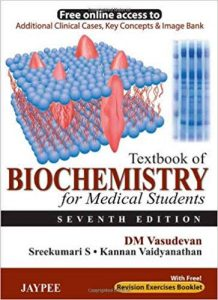 Textbook of Biochemistry for Medical Students by DM Vasudevan
