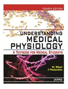 Book Cover: Understanding Medical Physiology Textbook
